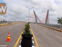 Jembatan Sungai Alalak Banjarmasin, Jembatan Lengkung Pertama di Indonesia, Akan Segera Diresmikan