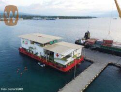 Giliran Kotabaru Disinggahi RS Apung Nusa Waluya II
