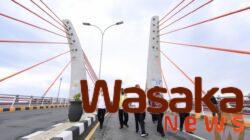 Jembatan Sei Alalak Banjarmasin, Jembatan Lengkung Pertama Di Indonesia Diresmikan Jokowi